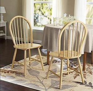 2 wooden chairs New for Sale in Murfreesboro, TN