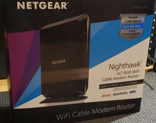 NETGEAR Nighthawk Cable Modem Wi-Fi Router Combo C7000 for Sale in Chandler,  AZ