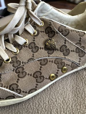 Ladies size 9 Gucci tennis shoes for Sale in Manassas, VA