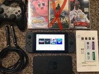 Nintendo Switch v2, 6 Games, Screen Protector, and Extra Controller. for Sale in Round Rock,  TX
