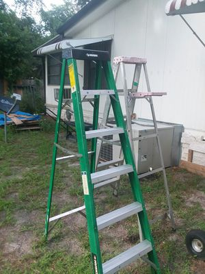 2 Ladders for Sale in Riverview, FL