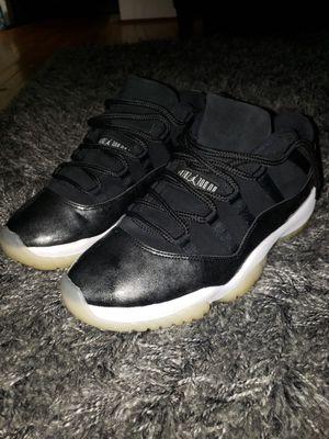 Nike Air Jordan 11 XI Retro Low Barons Black White Size 10 528895-010 for Sale in College Park, GA