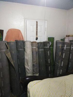 Telas para tapizar cortinas y cojines for Sale in Grand Prairie, TX