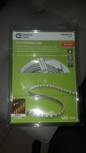 ●●NEW UNOPENED BOX● ●Commercial Electric 13.2 ft. LED Ribbon Light ●Retail $39.99● for Sale in Dallas, TX