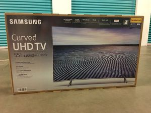 "SAMSUNG UN55MU850D 55"" CURVE 4K PREMIUM UHD HDR LED SMART TV 240HZ 2160P *FREE DELIVERY* for Sale in Everett, WA"