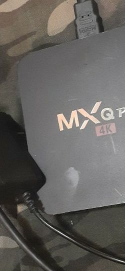 Mxg Pro 4k Android Box ****NO REMOTE**** for Sale in Moore,  OK