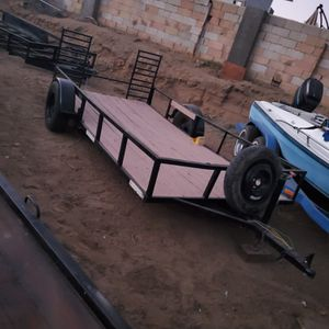 Utility Trailer 5.5' x 12' for Sale in Fontana, CA