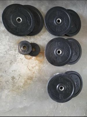 5 pound Hampton rubber grip plate/ weights for Sale in Miami, FL
