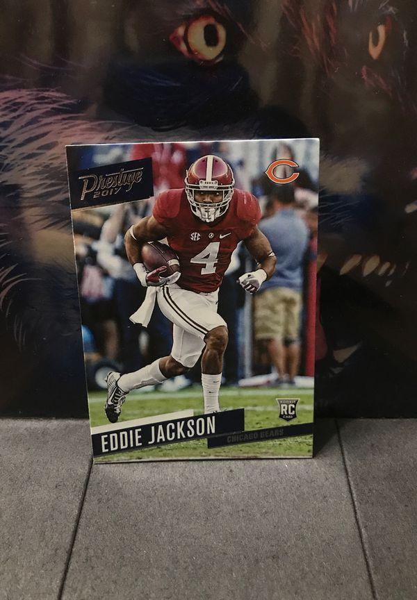Eddie Jackson Panini #214 RC Rookie Card Football Card Chicago Bears