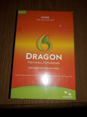 Dragon speech recognition software version 11 for Sale in Saint Paul, MN