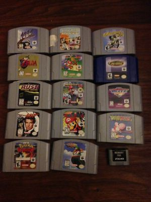 Nintendo 64 Console + Games for Sale in Vancouver, WA