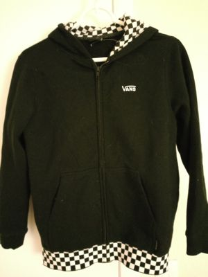 Vans checker girls Medium Sweat jacket New for Sale in Ormond Beach, FL