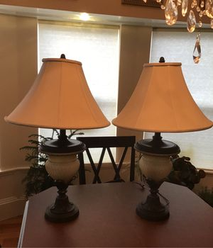 2 matching lamps in Tacoma for Sale in Ruston, WA