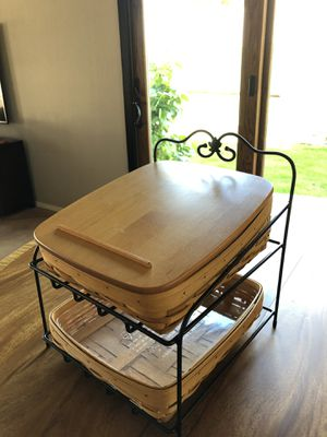 Longaberger Paper Tray Combo for Sale in Gilbert, AZ