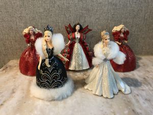 Hallmark Holiday Barbie Ornaments for Sale in OLD RVR-WNFRE, TX