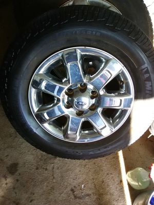 18inch 6lug rims Ford and tires for Sale in Frostproof, FL