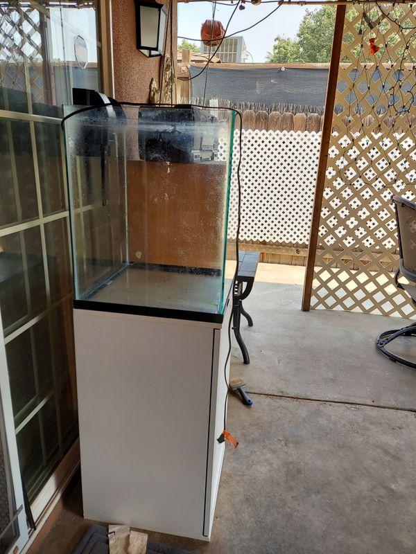 30 gal aquarium tank with stand