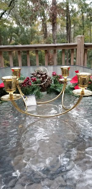 Partylite Brass Quartet candle holder for Sale in Miccosukee, FL