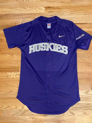 Washington Huskies Nike Baseball Team Issued Purple Game Jersey 46 for Sale in Kirkland, WA