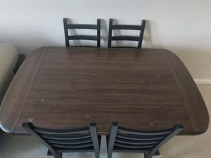 Solid wood dining room table and chairs for Sale in Falls Church, VA