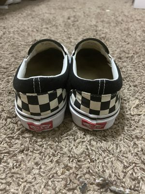 Vans Satin Rose Checkerboard Slip On Size 4M/5.5W for Sale in Los Angeles, CA