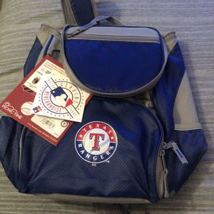 Back Pack Cooler Texas Rangers for Sale in Fort Worth, TX