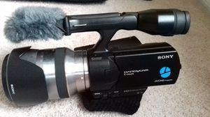 VIDEO CAMERA HD NEX-VG20 for Sale in Durham, NC