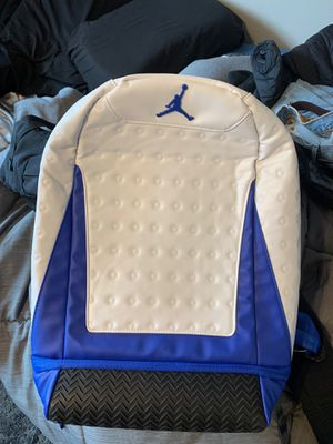 Jordan backpack with shoe department on bottom for Sale in San Leandro, CA
