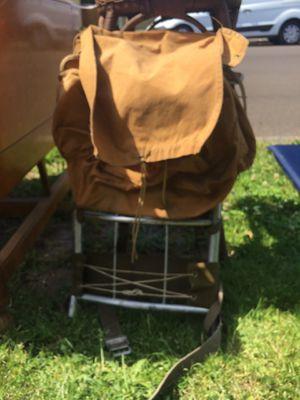 Vintage Camp trails hiking backpack for Sale in Gladstone, OR