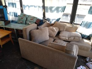 Couch / dresser / end tables and coffee table / loveseat for Sale in Lakeland, FL