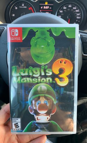 Luigis mansion 3 for switch for Sale in San Marcos, CA