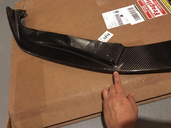 2016-2019 Lexus GS carbon fiber lip
