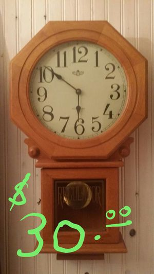 Antique Westminister wall Clock, plays melody hourly for Sale in Chicago, IL