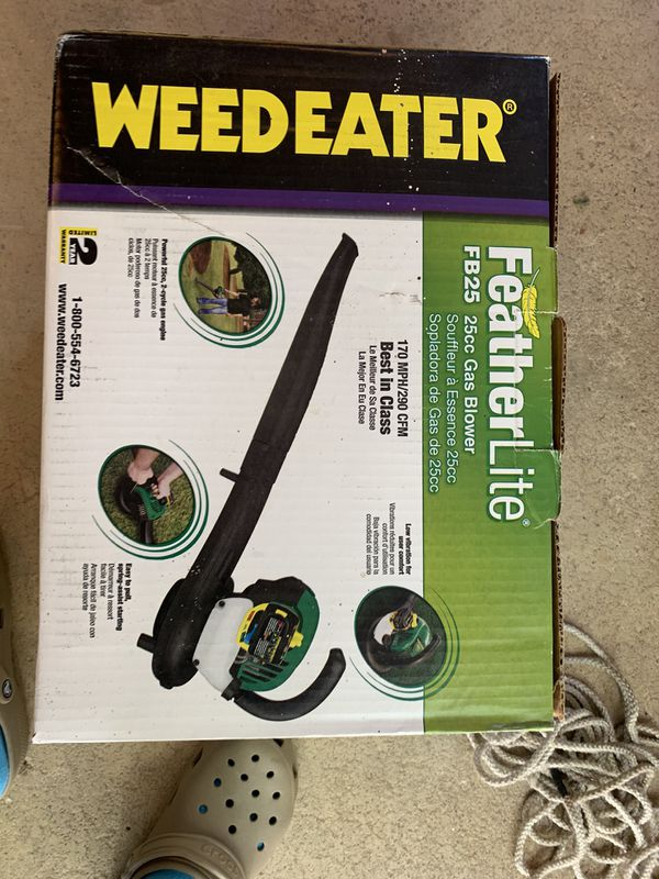 Weedeater gas blower 25CC brand new still in the box