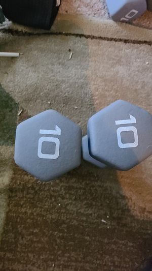 New 10 lb dumbells for Sale in Elizabethtown, PA