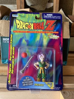 Dragon Ball Z Trunks Action Figure for Sale in Newark, CA