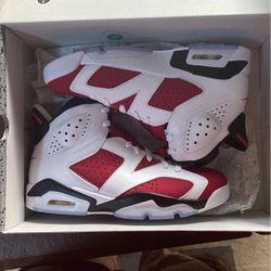 Jordan 6 Retro Carmine Size 8M for Sale in Woodinville,  WA
