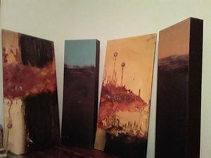 Canvas Vintage paintings. Beautiful wall Art. for Sale in Fayetteville, GA