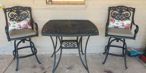 Iron patio furniture for Sale in Phoenix, AZ