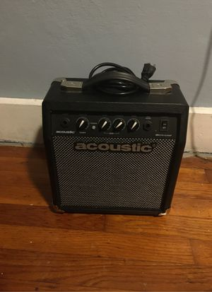 Acoustic Micro-Lead amp for Electric guitars for Sale in Seymour, CT