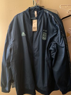 Adidas soccer Argentina jacket for Sale in Monterey Park, CA