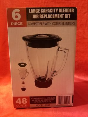 Oster blender full cup replacement cup vaso de vidrio oster completo for Sale in Moreno Valley, CA