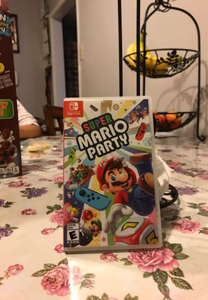 Nintendo switch game Mario party for Sale in Carrollton, TX