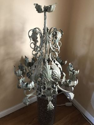 Antiqued Metal Hand Crafted Candelabra for Sale in Bayonne, NJ