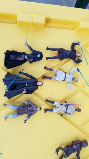 Star Wars figures Jedi Masters lot for Sale in Whittier, CA