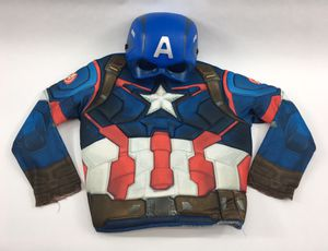 Rubie's Captain America Chest Piece & Mask Costume (One Size) NEW With Flaws for Sale in Hamilton Township, NJ