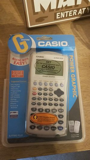 Casio Power Graphic fx-9750G PLUS Graphing Calculator for Sale in Muncy, PA