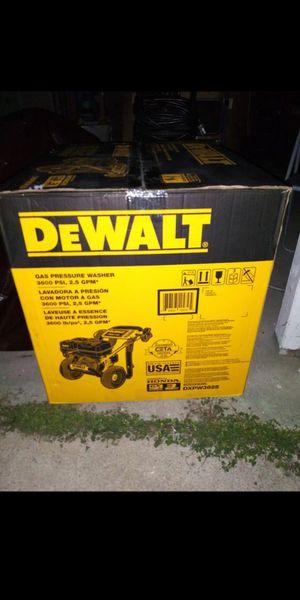 DEWALT PRESSURE WASHER 3600PSI for Sale in Chino, CA