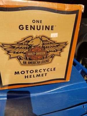 Harley Davidson motorcycle helmet medium size for Sale in St. Louis, MO
