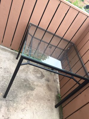 Glass table w 2 chairs for Sale in Bloomington, IL